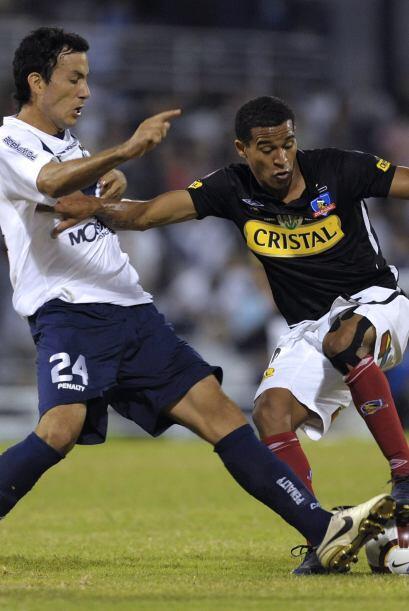 El que regresó a Colo Colo para irse fue el colombiano Macnelly T...