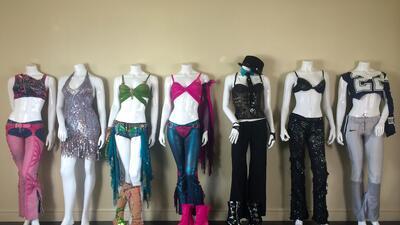 Los siete vestidos de Britney Spears que subastan esperando 1 millón de dólares