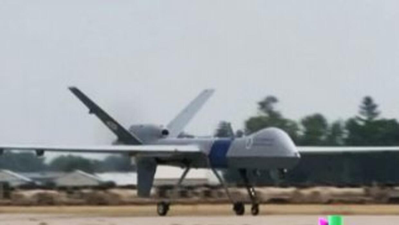 Drones armados vigilan la frontera de México-EEUU