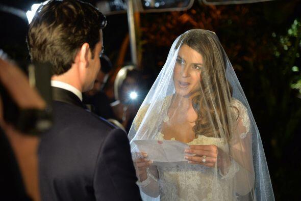 Vanessa también respondió segura de casarse con el hombre de su vida.