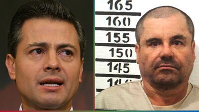 Testigo asegura que Peña Nieto aceptó un soborno de 'El Chapo' Guzmán por $100 millones
