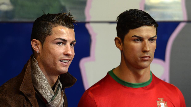 CR7 pidió la creación de otra figura al Museo de Madrid.