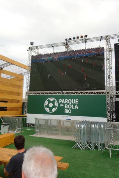 """El """"Parque de la Bola"""" en Río ofrece la oportunidad de ver los juegos en..."""