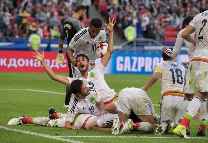 Empate agónico del 'Tri' en su primera salida en la Copa Confederaciones...