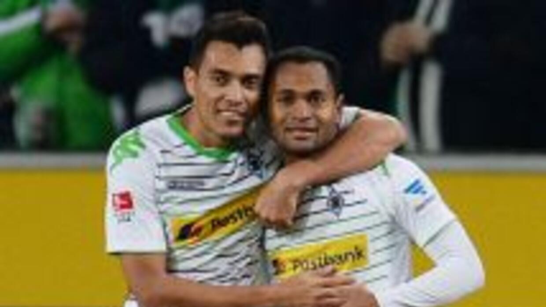 El venezolano Arango y el brasileño Raffael habían puesto en ventaja al...