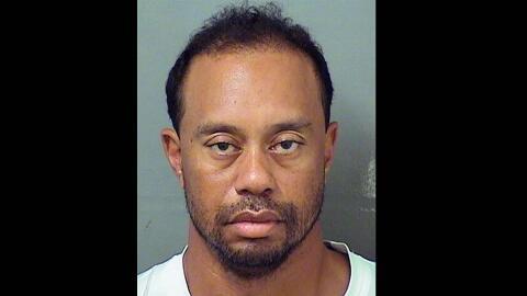 Tiger Woods fue arrestado por presuntamente conducir embriagado y quedó...