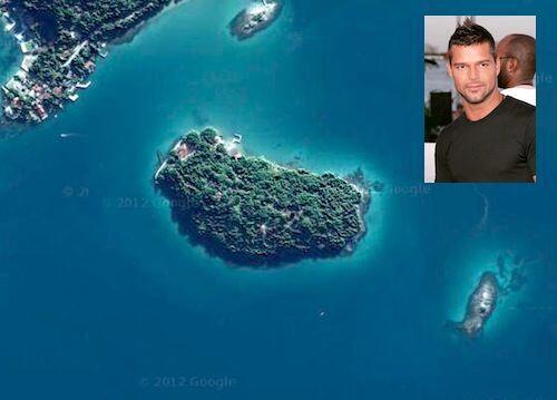 Ricky Martin pagó $8 millones de dolares por esta isla llamada  Angra do...