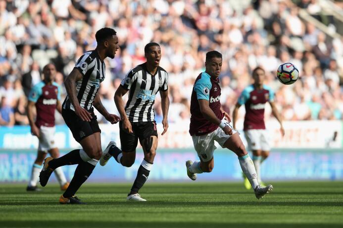 Premier League / Newcastle 3-[0] West Ham: el equipo del Chicharito Hern...