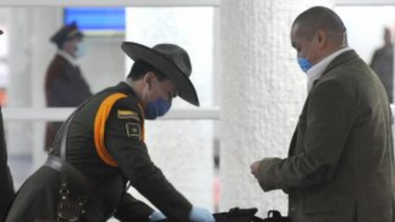 Aeropuerto de Colombia. (Imagen de Archivo).