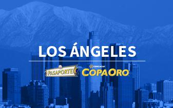 Pasaporte Copa Oro Los Angeles
