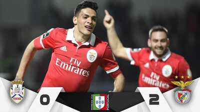 Con un minuto en la cancha, Raúl Jiménez anotó y encaminó triunfo del Benfica