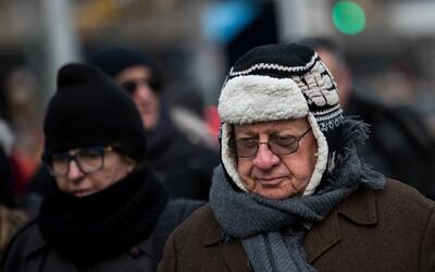 Peatones en Midtown Manhattan este 3 de enero de 2018.