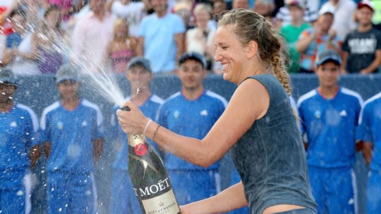 La bielorrusa le gana Cincinnati a Serena.