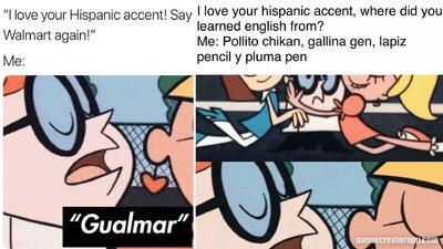 """EN MEMES: Las frases más chistosas del """"me encanta tu acento hispano"""""""