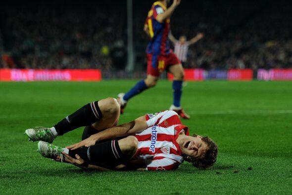El contacto sobre el atacante de la selección española era innegable.