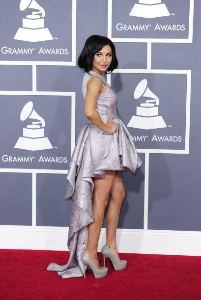 "Naya Rivera interpreta a una chica lesbiana que no puede ""salir del clós..."