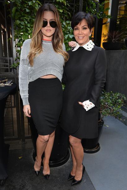 Tal parece que las herederas de Kris Jenner se reponen facilmente a las...