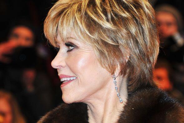 A sus 75 años Jane Fonda es una de las celebridades más bellas de Hollyw...