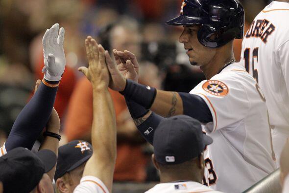 Los Astros tienen mucho por qué celebrar, pues la victoria del domingo f...