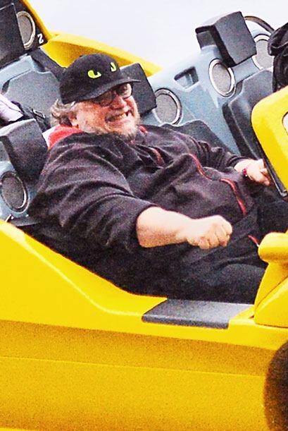 Del Toro no podía de la felicidad.