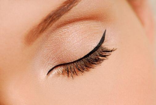 Para realizar este 'make up' deber comenzar por hacer una linea muy fina...