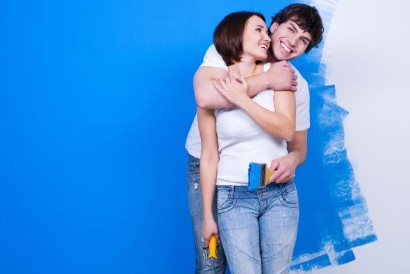 Si quieres pintar, hazlo antes de mudarte; de esta manera aprovechas que...
