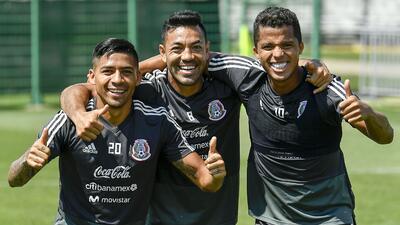 Buen ambiente e intensidad en el entrenamiento de México tras pasar a octavos del Mundial