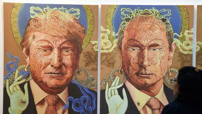 Cuando Donald Trump y Vladimir Putin andaban 'juntos' por el mundo