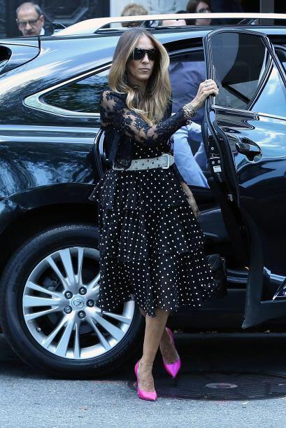 No importa del evento que se trate Sarah sabe como vestirse y cómo lucir...