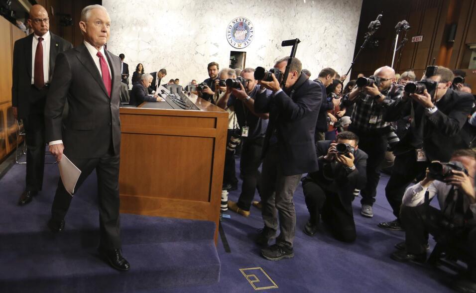 Jeff Sessions en el senado