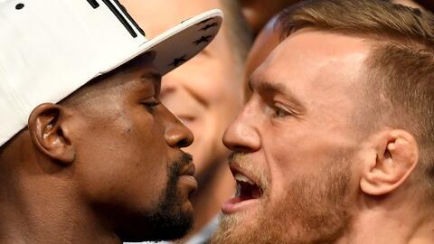 Llegó el gran día: Mayweather busca ser leyenda; McGregor, una sorpresa...