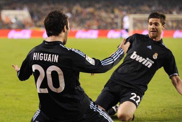 Era el día de Higuaín. El argentino volvió a poner en ventaja al equipo...