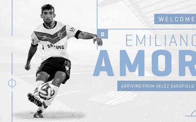 Emiliano Amor de Vélez Sarsfield a Sporting KC