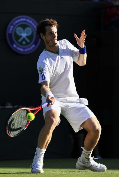 Buena jornada para el cuarto favorito del torneo, el británico Andy Murr...