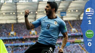 Uruguay avanza a octavos, elimina a Arabia y de paso a Egipto
