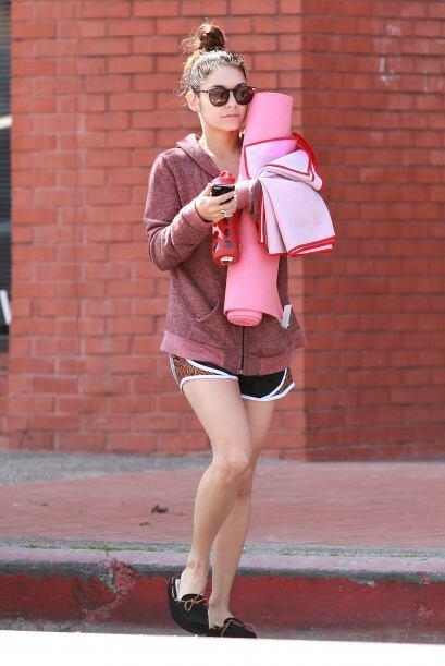 Vanessa Hudgens es una de las famosas que lo ha adoptado como un estilo...