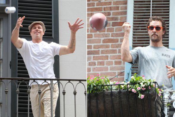 Coincidencias de la vida, Matthew McConaughey y Brad Pitt estuvieron en...