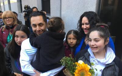 Fernando Carrillo, inmigrante indocumentado con orden de deportaci&oacut...