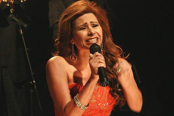 Carmen cantó con gran sentimiento.