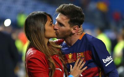 La historia de amor entre Messi y Antonella