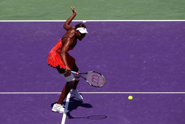 Venus venía de una buena racha en las finales de Dubai y Acapulco.