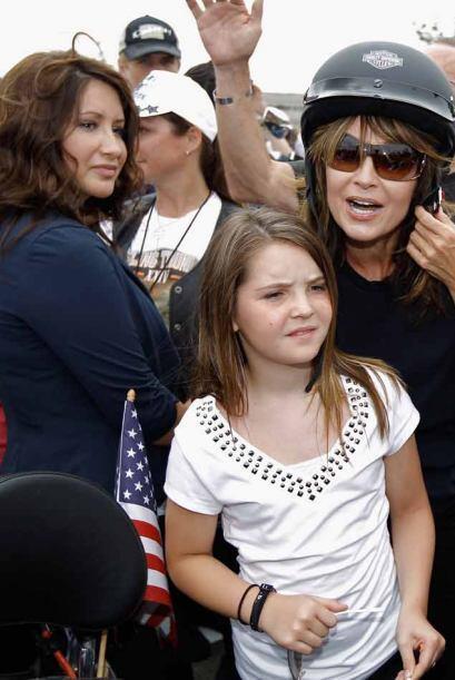 """Los organizadores  lamentaron que la  presencia de Palin fuera una """"dist..."""