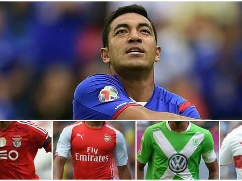 El futbolista ha sido vinculado varias ocasiones con el fútbol eu...