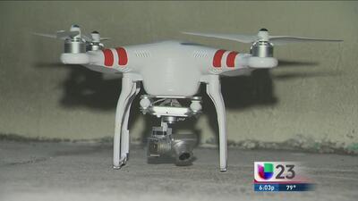 Esperan por que el dueño del dron aparezca