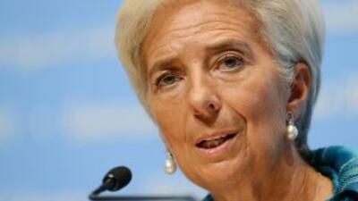 La jefa del FMI advirtió que la crisis de la Unión Europea (UE) está cre...