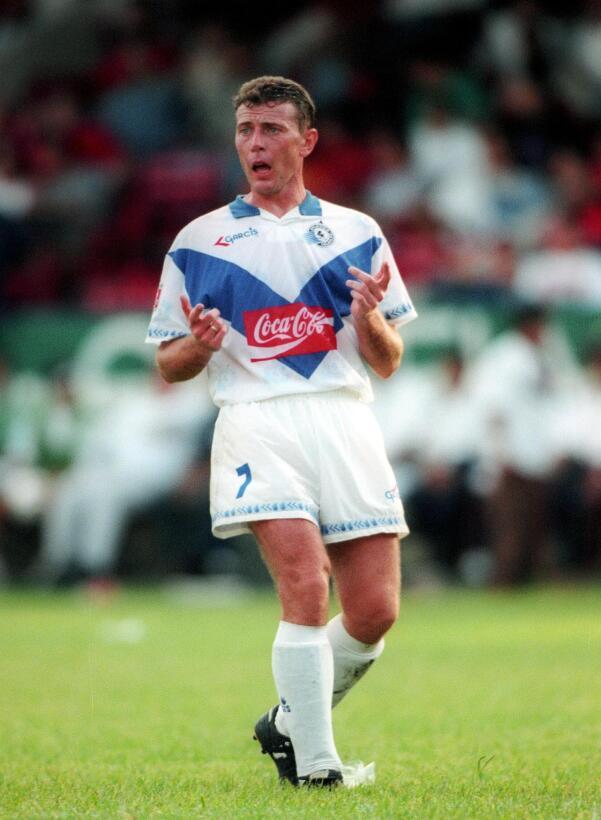 El 'Buitre' Emilio Butragueño fue jugador del Celaya de 1995 a 1...