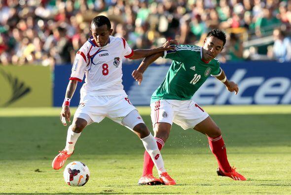 Marco Fabián estuvo por momentos poco participativo pero tras su gol int...