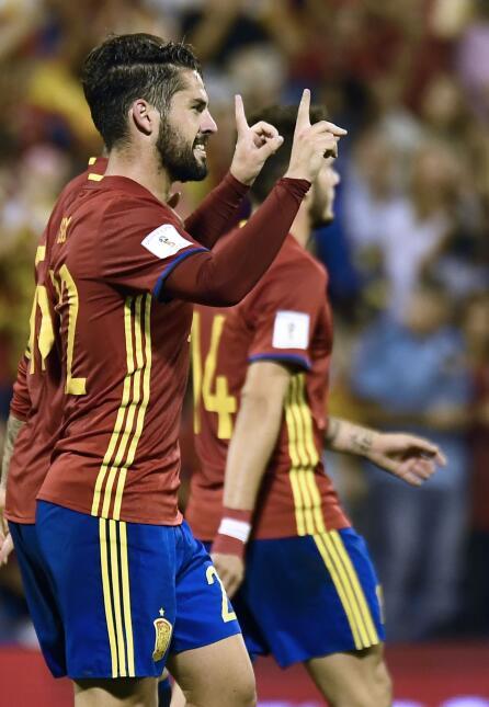 España se convirtió en el clasificado 11 a Rusia 2018 gettyimages-858399...