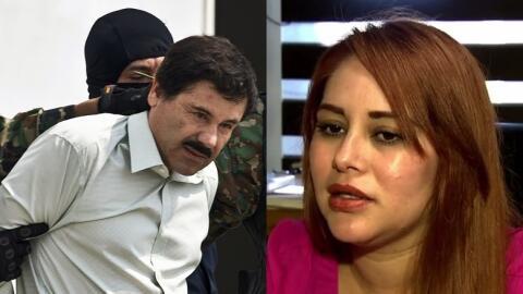 Joaquín 'El Chapo' Guzmán y Lucero Guadalupe Sánche...