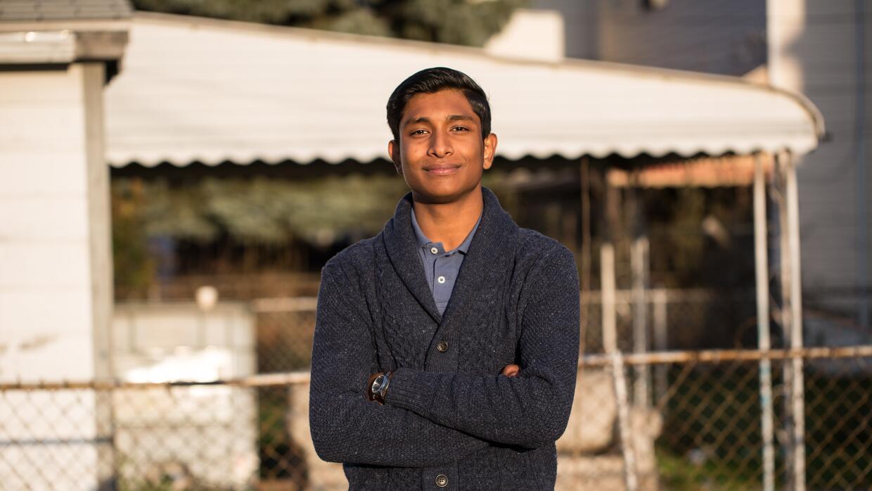 El adolescente Tahmin Siddiquee convocó una marcha en su escuela en los...